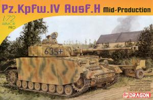 Dragon 7279 Pz.Kpfw. IV Ausf. H Mid-Production 1/72