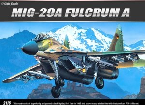 Academy 12263 MiG-29 A Fulcrum A (1:48)
