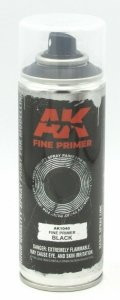 AK Interactive AK 1041 Fine Grey Primer Lacquer Spray 200 ml.