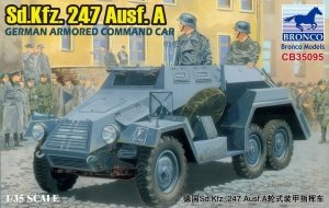 Bronco CB35095 GERMAN Sd.Kfz.247Ausf.A ARMORED COMMAND CAR (1:35)