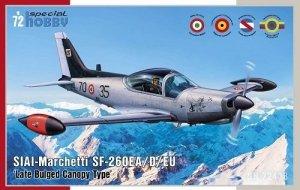 Special Hobby 72433 SIAI-Marchetti SF-260 EA/D/EU 'Late Bulged Canopy Type' 1/72