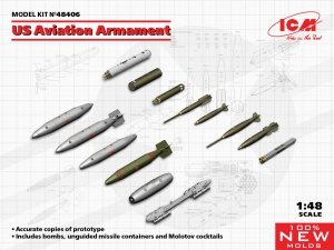 ICM 48406 US Aviation Armament 1/48