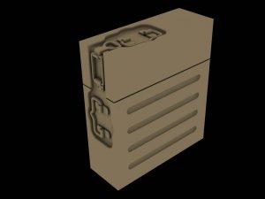 Panzer Art RE35-569 Metal ammo boxes for 37mm FlaK37 (12pcs) 1/35