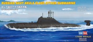 Hobby Boss 87005 Russian Navy Akula Class Attack Submarine 1/700