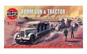 Airfix 02303V 88mm Gun & Tractor 1/76