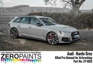 Zero Paints ZP-1083 Audi RS - Nardo Grey Paint 60ml