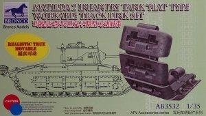 Bronco AB3532 Matilda 2 Flat Type Workable Track Link Set 1/35