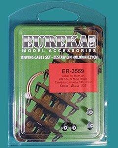 Eureka XXL ER-3559 Cables for Soviet KMT-5M/-7/-9 Mine Rollers 1/35
