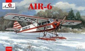 A-Model 72309 AIR-6 Soviet monoplane on skis 1:72