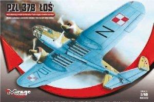 Mirage Hobby 481302 Łoś PZL 37B bomber (1:48)