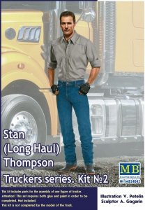 Master Box 24042 Truckers Series: Stan Long Haul Thompson (1:24)