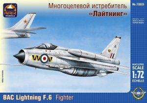 Ark Models 72025 BAC Lightning F.6 British fighter interceptor (1:72)