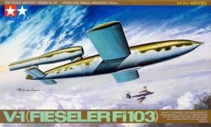 Tamiya 61052 German V-1 Flying Bomb Fieseler Fi10 1/48