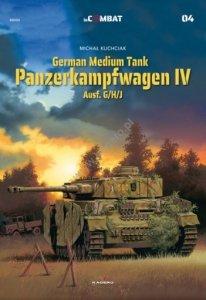Kagero 88004 The German Medium Tank Panzerkampfwagen IV Ausf. G/H/J EN
