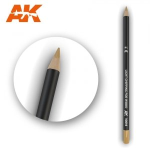AK Interactive AK 10016 Watercolor Pencil LIGHT CHIPPING FOR WOOD