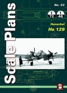 Stratus 58105 Scale Plans No. 53 Henschel Hs 129