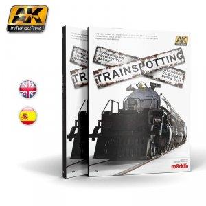 AK-Interactive 696 Trainspotting Modelling Techniques Book English