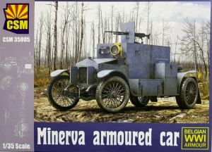 Copper State Models 35004 Minerva Armoured Car 1/35