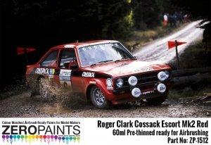 Zero Paints ZP-1512 Roger Clark Cossack Escort Mk2 Red Paint 60ml