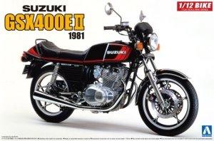 Aoshima 05457 1981 Suzuki GSX400E II 1/12