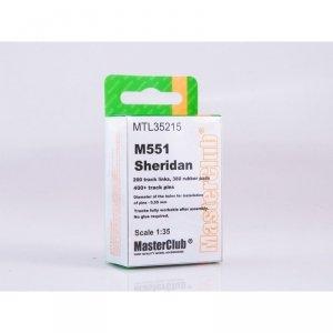 MasterClub MTL-35215 Tracks for M551 Sheridan tracks 1/35