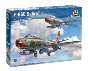 Italeri 2799 F-86E SABRE (SUPER DECALS SHEET) 1/48