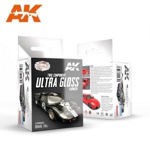 AK Interactive AK 9040 ULTRA GLOSS VARNISH 2x60ml.