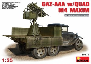 MiniArt 35177 GAZ-AAA w/QUAD M4 MAXIM (1:35)