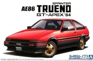 Aoshima 05969 TOYOTA AE86 SPRINTER TRUENO GT-APEX '84 1/24