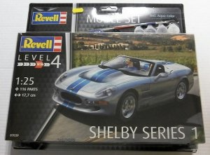 Revell 67039 Shelby Series I Model Set (1/25)
