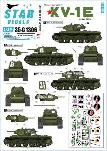 Star Decals 35-C1306 KV-1E 1/35