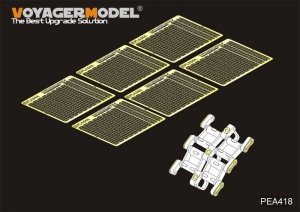 Voyager Model PEA418 Chinese PLA ZBD-04A IFV Track Pins(For PANDA HOBBY PH35042) 1/35