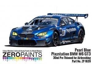 Zero Paints ZP-1639 Pearl Blue Playstation BMW M6 GT3 Paint 30ml
