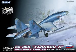 Great Wall Hobby L4820 Su-35S Flanker-E Multirole Fighter (1:48)