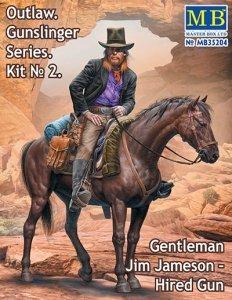 Master Box 35204 Outlaw. Gunslinger #2: Gentleman Jim Jameson Hired Gun 1/35