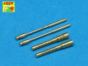 Aber A32006 Set of 2 barrels for German 13mm aircraft machine guns MG 131 (middle type) (1:32)