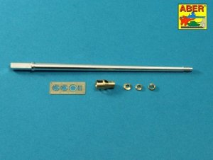 Aber 35L-245 7,5 cm barrel with muzzle brake for Panther Ausf.A (1:35)
