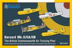 Special Hobby 72447 Harvard Mk.II/ IIA/ IIB 'The British Commonwealth Air Training Plan' 1/72
