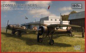 IBG 72529 COMBAT TRAINERS 2 in 1 PZL P.11a PZL 23A Karaś 1/72