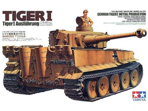 Tamiya 35227 German Tiger I Initial Production (1:35)