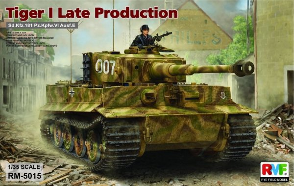 Rye Field Model 5015 Tiger I Late Production 1/35
