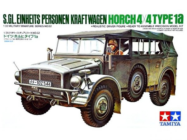 Tamiya 35052 German Horch Type 1a (1:35)