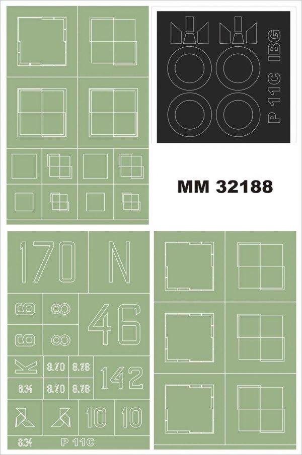 Montex MM32188 PZL P-11c IBG 1/32
