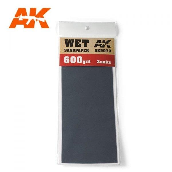AK Interactive AK 9073 WET SANDPAPER 600