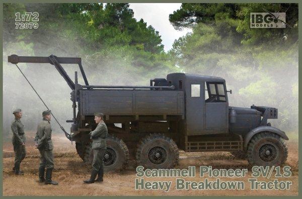 IBG 72079 Scammell Pioneer SV/1S Heavy Breakdown Tractor  1/72