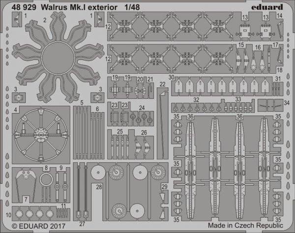 Eduard 48929 Walrus Mk. I exterior 1/48 AIRFIX