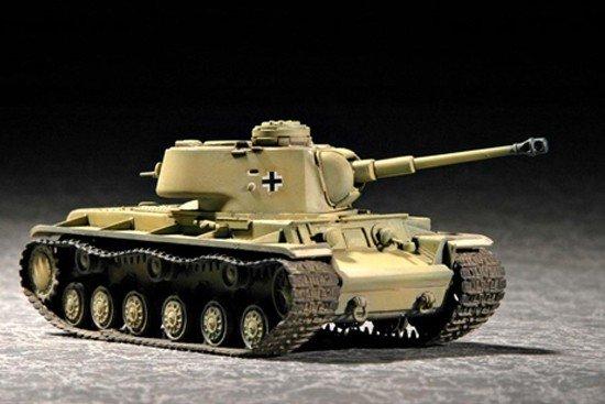 Trumpeter 07265 German Pz.Kpfw KV-1 756( r ) tank (1:72)
