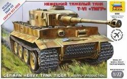 Zvezda 5002 German Heavy Tank Tiger (1:72)