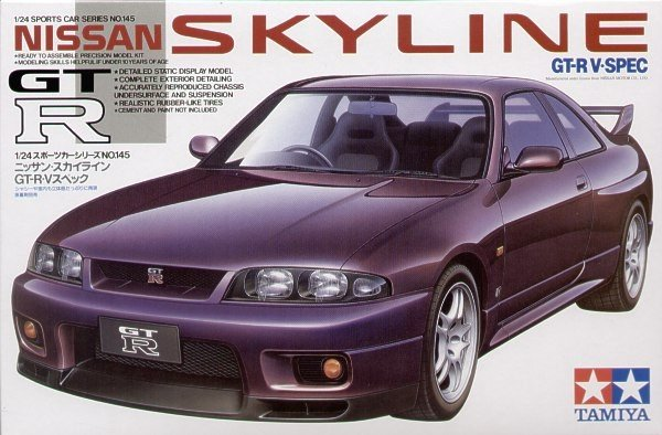 Tamiya 24145 Nissan Skyline GT-R V-Spec (1:24)