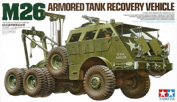 Tamiya 35244 M26 Armored Tank Recovery Vehicle (1:35)